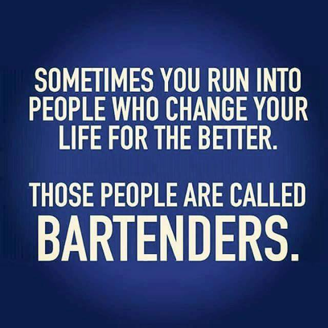 Bartenders. life